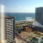 Hilton Diagonal Mar - 19th floor.