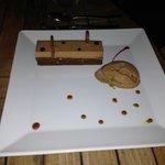 L'Esprit's Crispy Chocolate Cake with Caramel Ice Cream