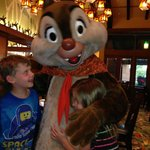 Character breakfast at the Storytellers Cafe