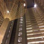 Atrium and elevators