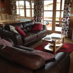 Living room in lodge 4