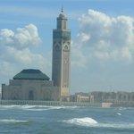 la Moschea vista da lontano