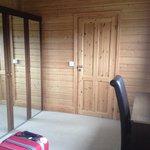 Double bedroom in lodge 4
