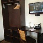 TV and wardrobe
