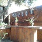 Servizio bar in giardino