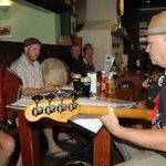 Live band at The Rose Irish Pub