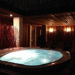 Jacuzzi at wellness area