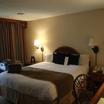 very nice room and great night sleep, the bathroom could use some upgrading,