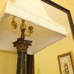 Desk lamp with NO light bulbs...LOL