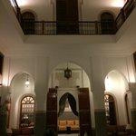 Vista interna del Riad