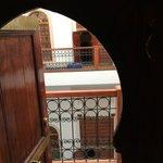 Vista dalla porta della camera