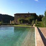 View to villa