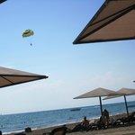 Quiet privat resort beach. Long beach walks. Very little beach activies.