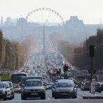 Champs-Elysees vista a partir do Arco do Triunfo