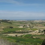 View from Mdina ramparts