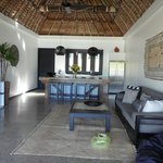 Kitchen/Lounge area of 2 brm Villa across from Main resort.