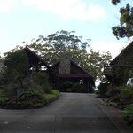 Binna Burra entrance to Reception