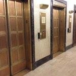 Original elevator doors