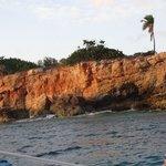 cliffs of St. Maarten