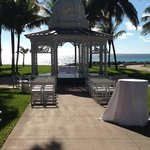 View of the Gazebo towards the ocean