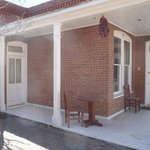 Lovely porch on the west side