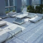 Roof top lounge.