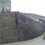 Muros robustos, en algunas zonas almenados.