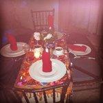Cena en el jardín secreto :)