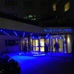 Entrada do Hotel.