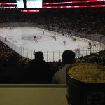 View of the Ice with Popcorn