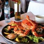 King crab inteiro