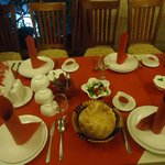 dinner @ Sim Sim Cafe, Tashkent