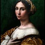 "RAPHAEL's ""Portrait of a young lady"""
