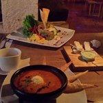 Sopa y Quinoa