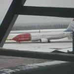 Norwegian Plane from Helsinki