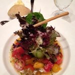 This salad was almost too pretty to eat and as delicious as it was pretty! Again, part of a banq