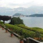 Vista del lago desde jardines