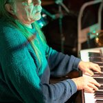 Ken plays keyboards with Pat Crawford Jazz Combo at DK's
