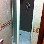 super small shower