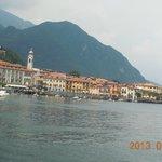Vista de Menaggio desde el ferry