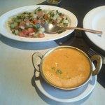 Daj Soup and Katchcumber Salad