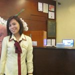 Ms Rhoda receptionist