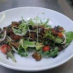 Scrumptious lamb salad