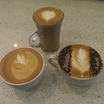 Just a quick sample of our delicious coffee