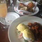 Lobster Benny and Bellini.