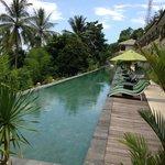 The long main pool