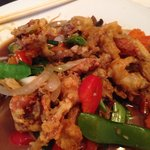 Soft Shell Crab with Ginger sauce