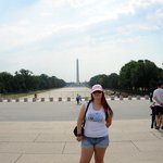 Me in front of The Washington Monument.