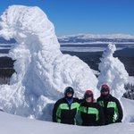 Tour package to Two Top Mt snowmobiling
