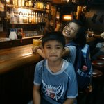 With the kids in the afternoon at Rumours